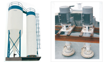 water sedimentation treatment plant